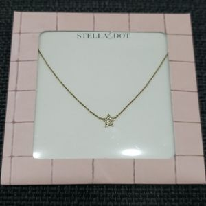 Stella & Dot Pave Star Necklace